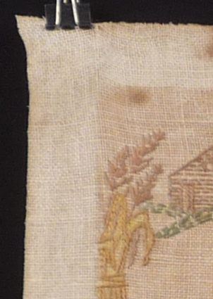 Textile after cleaning tests
